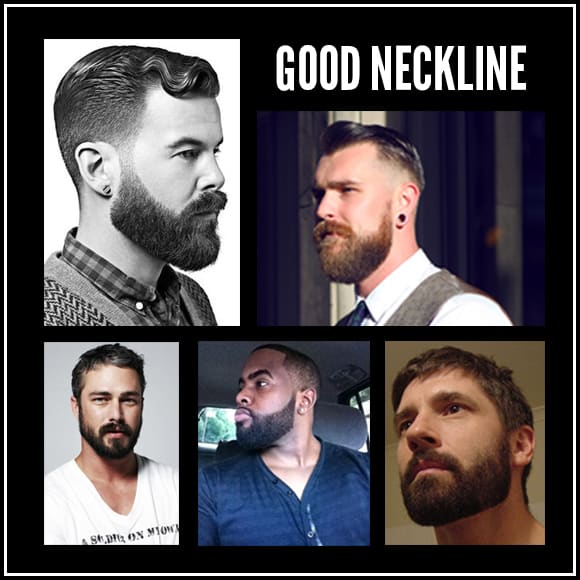 trimming a beard neckline rugged fellows guide. Black Bedroom Furniture Sets. Home Design Ideas