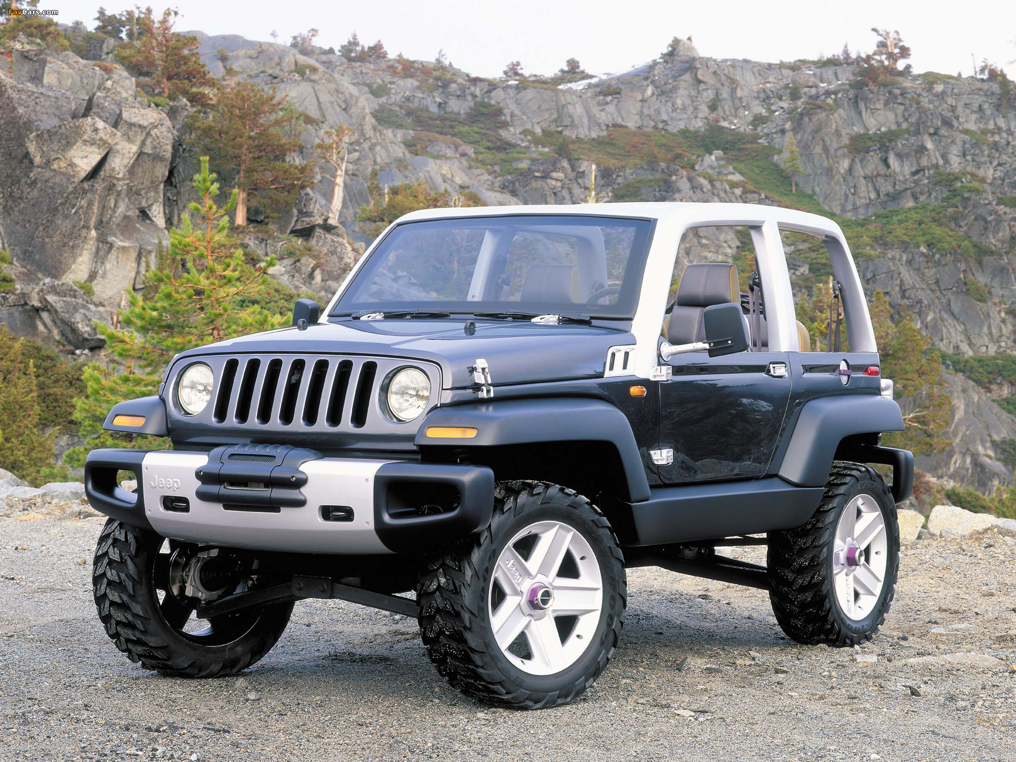 the jeep icon a