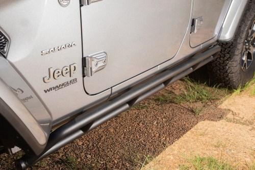 small resolution of rugged ridge rrc rocker guards add vital protection to those pristine rocker panels