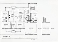 17 Best Simple Colonial House Plans - Home Building Plans ...