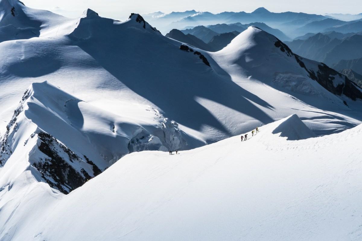 Lyskamm ridge
