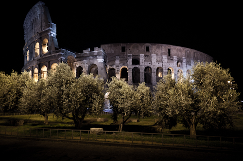ancient Rome by night 2