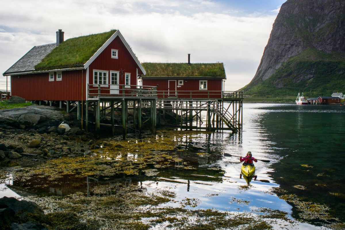Lofoten Islands paddling