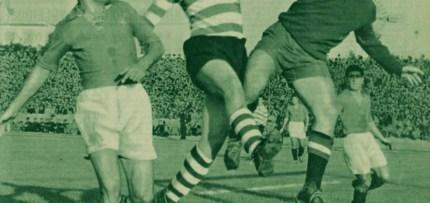 Neste dia… em 1950, o Sporting venceu o Belenenses por 6-2, com um hat-trick de Vasques.