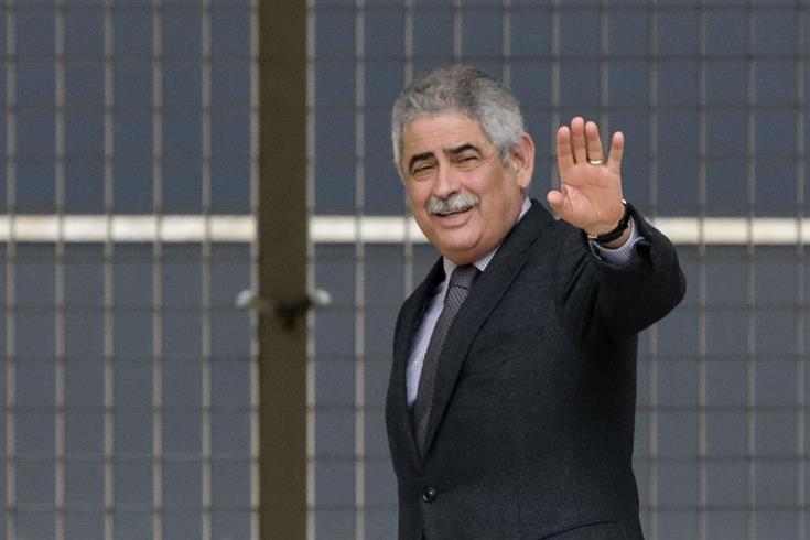 Luís Filipe Vieira a presidente do Sporting