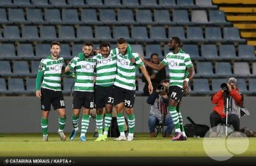 Goleada permite ao Sporting chegar ao Pódio.