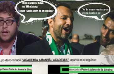 Julgamento de Alcochete: Surpresa do dia – Pedro Silveira (Barbini) e Diogo Amaral, da lista de Varandas, chamados hoje a depor