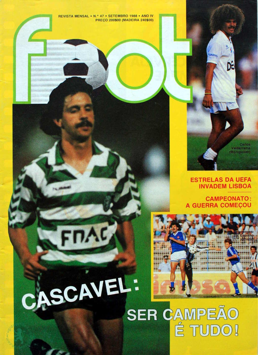 Paulinho Cascavel: «Troco tudo pelo título nacional»
