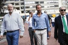 Rogério Alves, Frederico Varandas e Baltazar Pinto