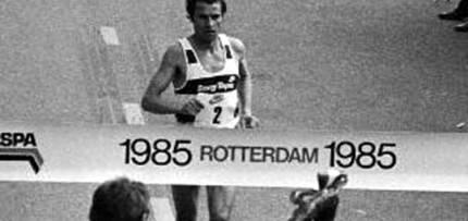 Neste dia… em 1985, Carlos Lopes venceu a Maratona de Roterdão com novo recorde mundial