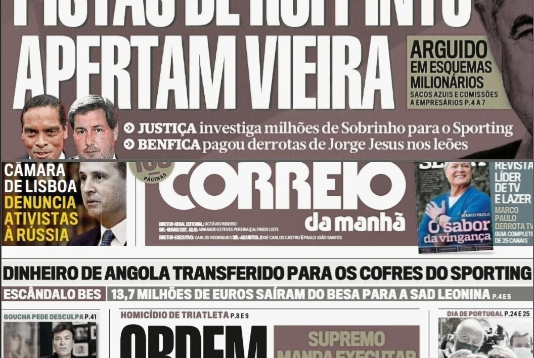 Capas de Engano, Parte Dois: Holdimo, Álvaro Sobrinho e Godinho Lopes