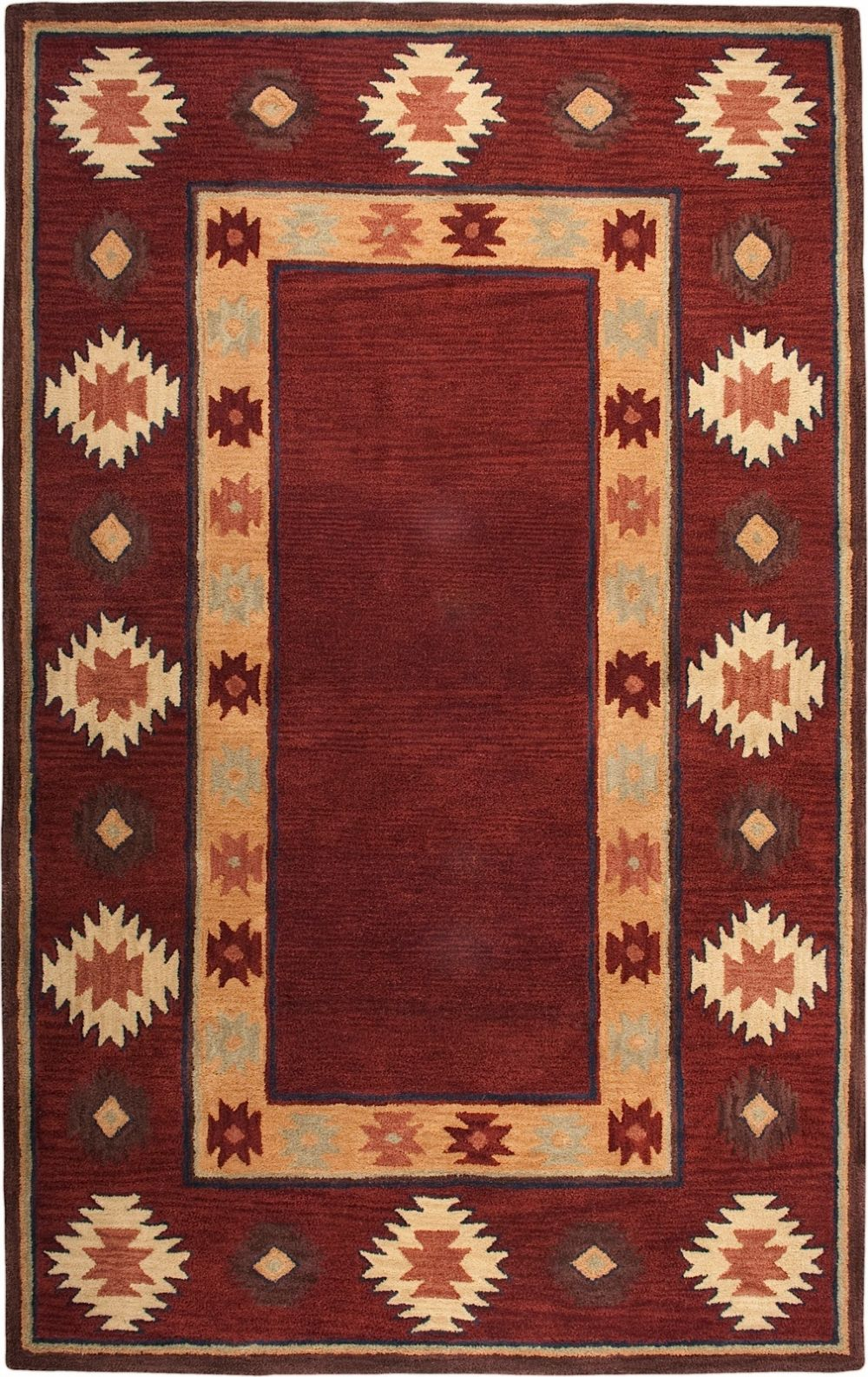 Rizzy Rugs Southwest Southwestern Lodge Area Rug Collection  RugPalcom  SU20144200