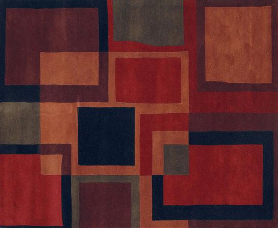 Geometric Pattern Rugs to Match Geometric Themed Home