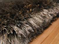 Plush Taupe Shaggy Rug [Plush Taupe] - 117.00 : Rugs Centre