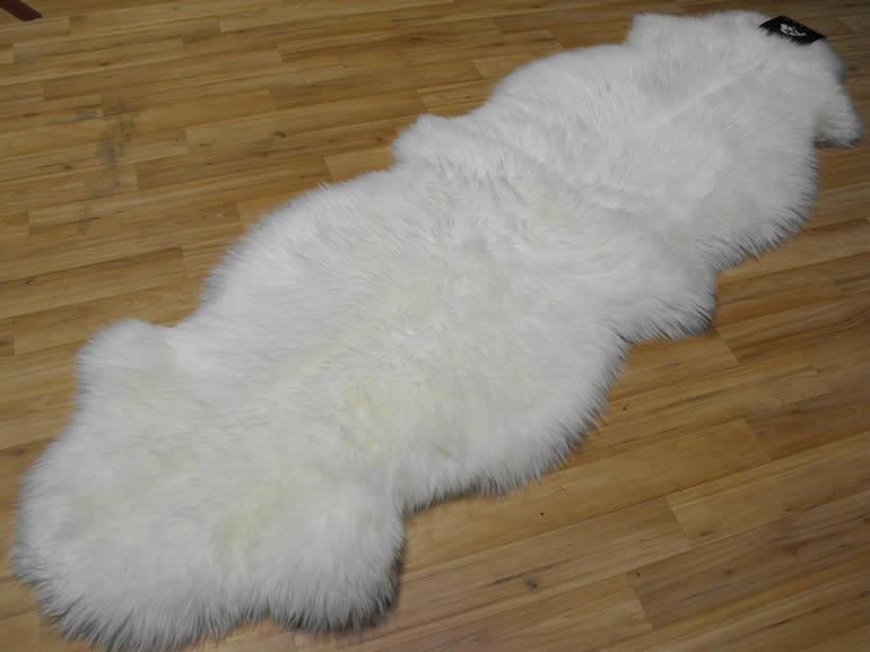 Sheepskin Rug White Sheepskin White  5900  Rugs Centre