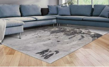 grey rug living room brown and turquoise ideas rugs uk free delivery direct atlantic surf 8640
