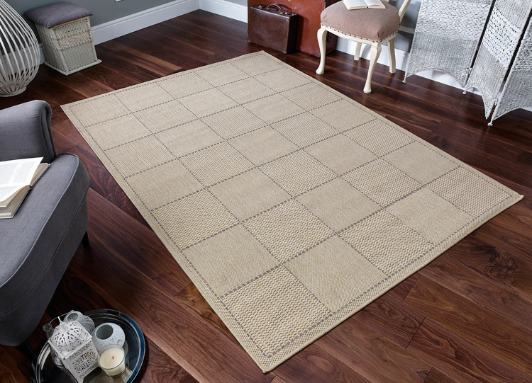 kitchen runner mat storage rugs runners free uk delivery direct checked flatweave beige rug