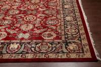 Rugsville Traditional Wool Red & Black Rug 9' x 12 ...