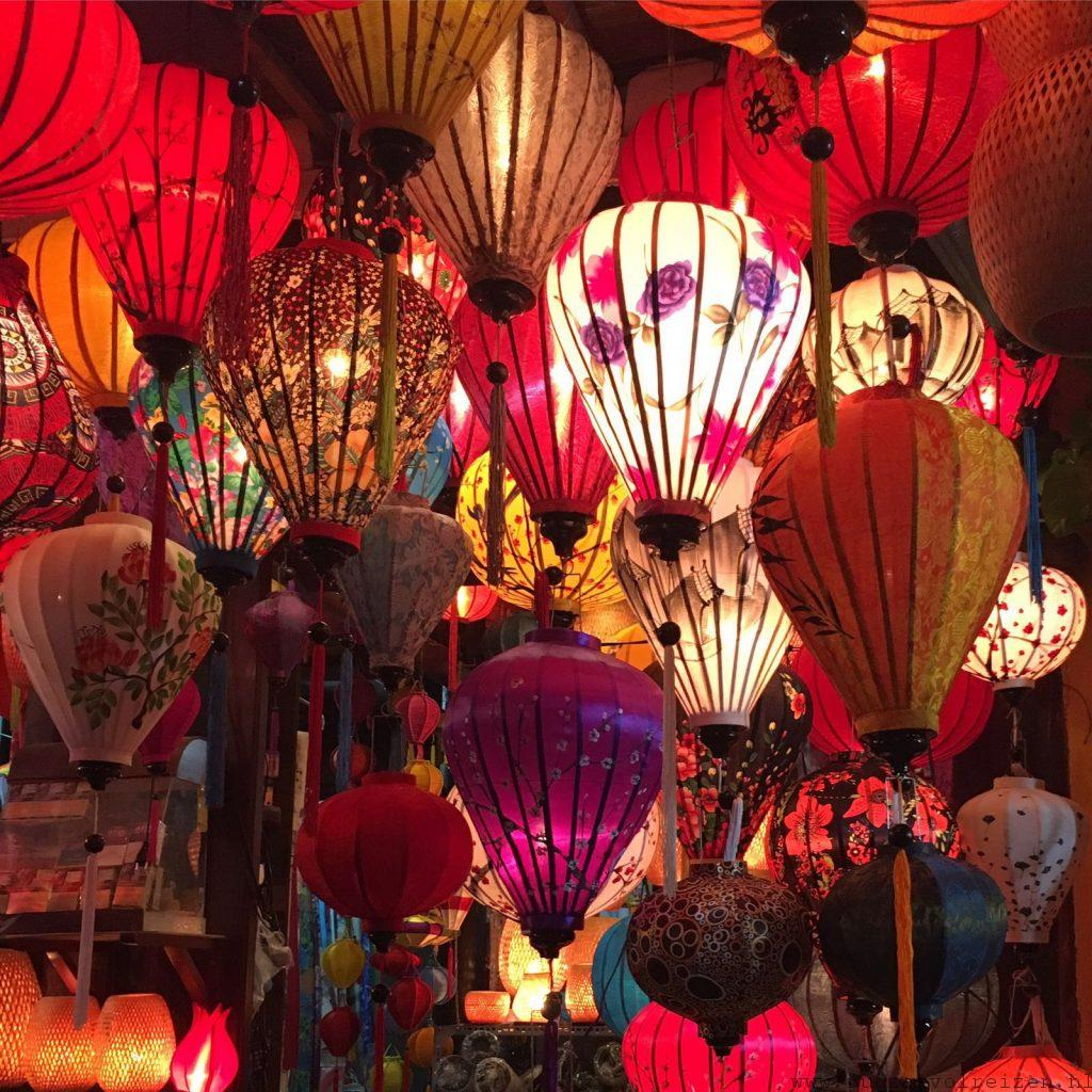 De kleurrijke lampionnen van Hoi An  Rugzak vol Reizen