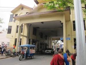 Grenzuebergang Mae Sot Thailand Myanmar