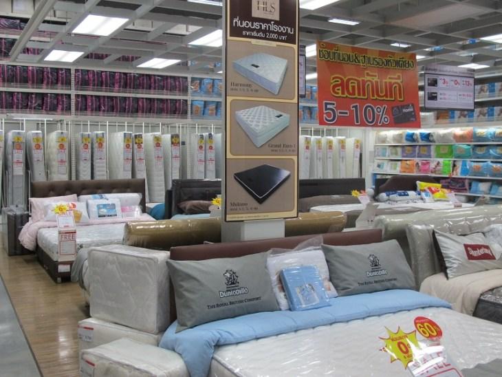 Gerade Allergiker oder Menschen mit Rückenproblemen haben es in Thailand normalerweise nicht leicht eine geeignete Matratze zu finden. ,
