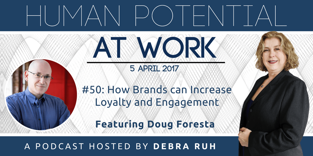 Episode Flyer for #50: How Brands Can Increase Loyalty and Engagement