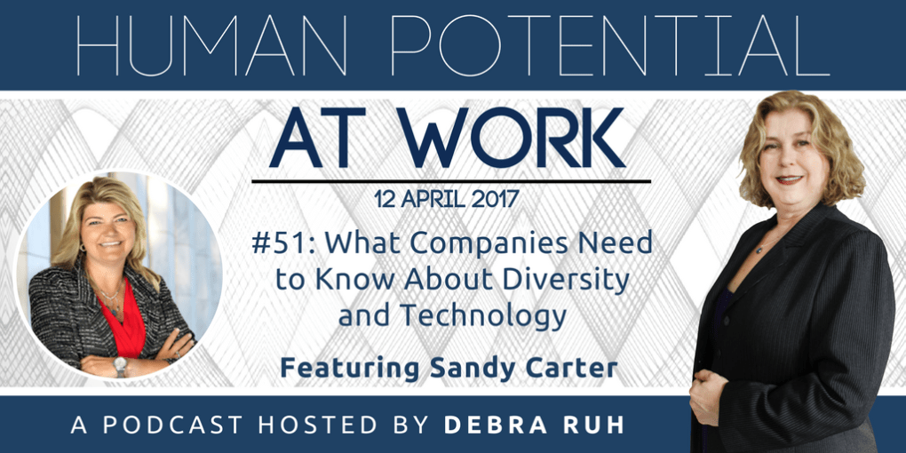 Episode Flyer for #51: What Companies Need to Know About Diversity and Technology