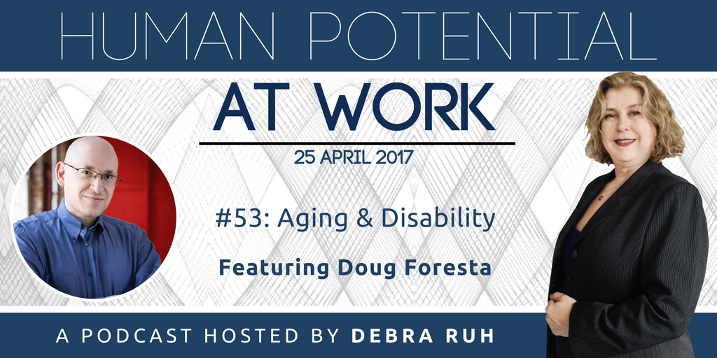 Episode Flyer for #53: Aging and Disability