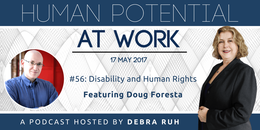 Episode Flyer for #56: Disability and Human Rights