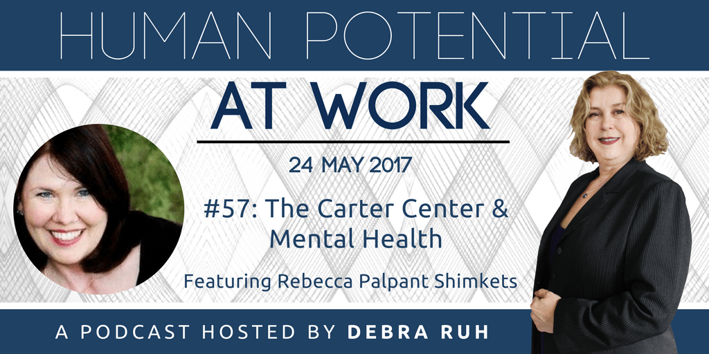 Episode Flyer for #57: The Carter Center and Mental Health