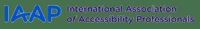 IAAP: International Association of Accessibility Professionals (Logo)