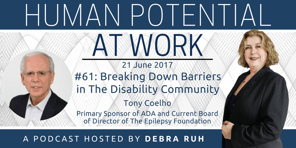 Episode Flyer for #61: Breaking Down Barriers In The Disability Community