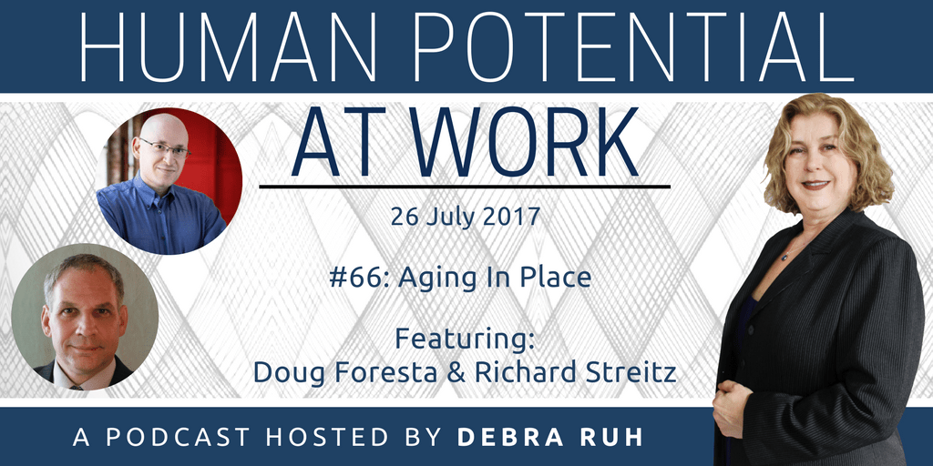 Episode Flyer for #66: Aging in Place