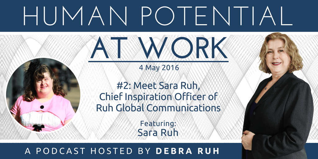 Episode Flyer for #2: Meet Sara Ruh, Chief Inspiration Officer of RGC