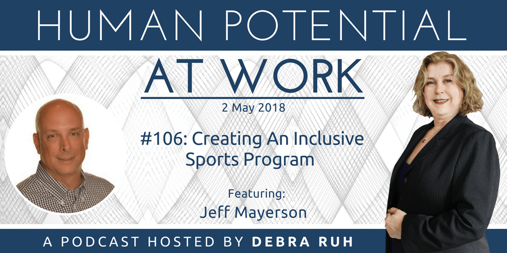 Episode Flyer for #106: Creating An Inclusive Sports Program