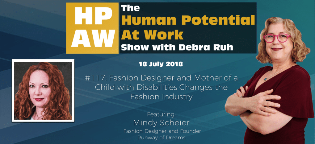 Episode Flyer for #117 Fashion Designer and Mother of a Child with Disabilities Changes the Fashion Industry