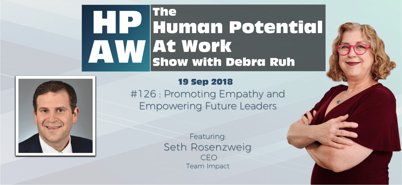 Episode Flyer for #126 Promoting Empathy and Empowering Future Leaders