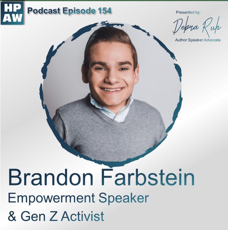 Episode #154 Featuring Brandon Farbstein Social Media