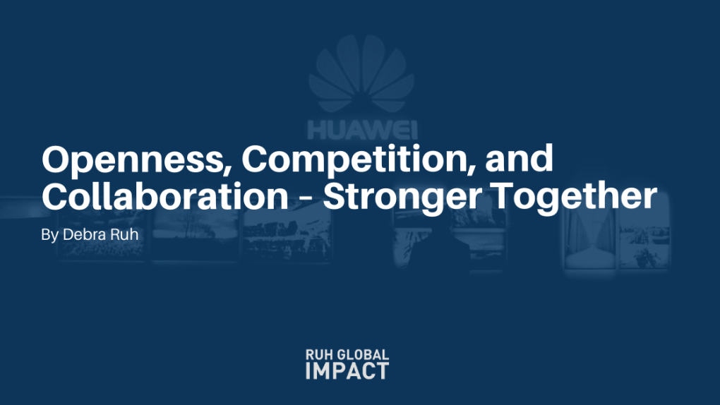 Openness, Competition, and Collaboration – Stronger Together