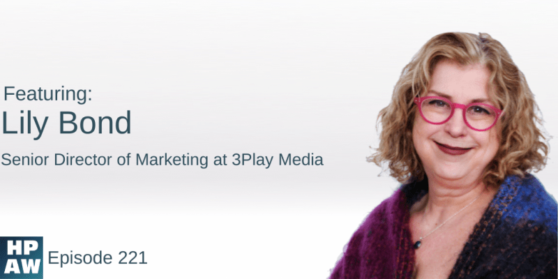 Lily Bond Senior Director of Marketing at 3Play Media