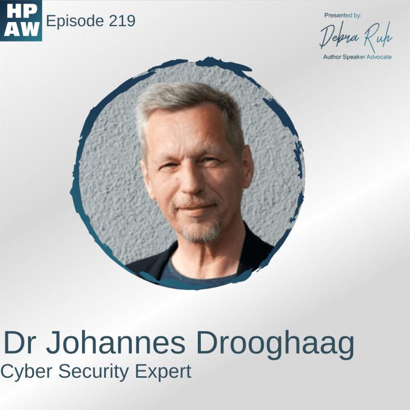 Dr Johannes Drooghaag Cyber Security Expert