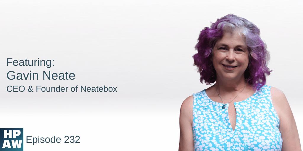 Gavin Neate CEO & Founder of Neatebox