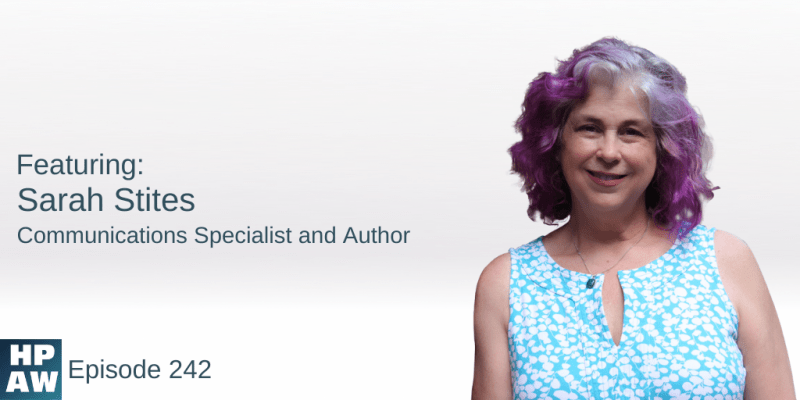 Sarah Stites Communications Specialist and Author