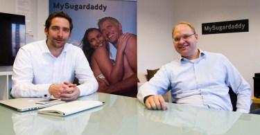 Thorsten Engelmann und Philip Cappelletti von MySugardaddy