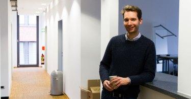 Coworking Ruhrgebiet - Work Inn Gründer Tim Schabsky