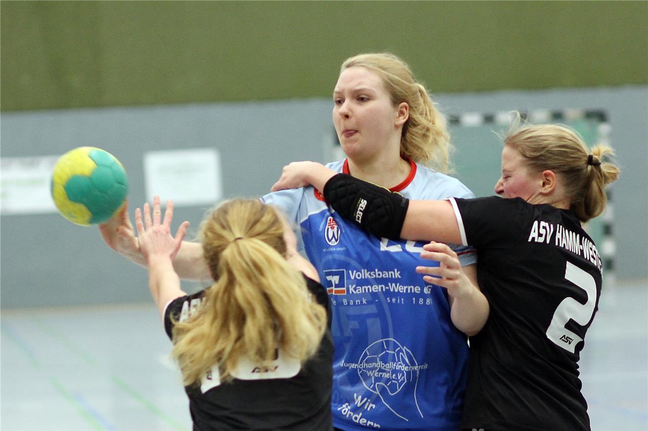die werner handballerinnen wollen