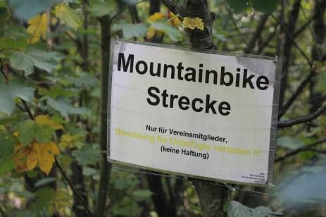 Mountainbike Strecke