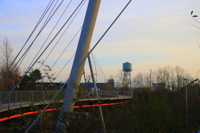Blick auf den Wasserturm