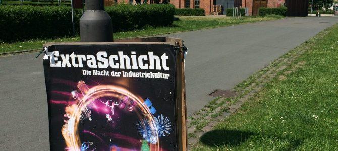 Extraschicht – Die Nacht der Industriekultur. Klasse Veranstaltung im Ruhrgebiet.