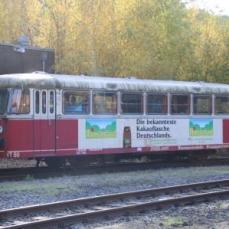 Schienenbus im Ruhestand